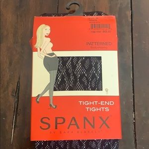 Spanx Tight End Tights Size A Black